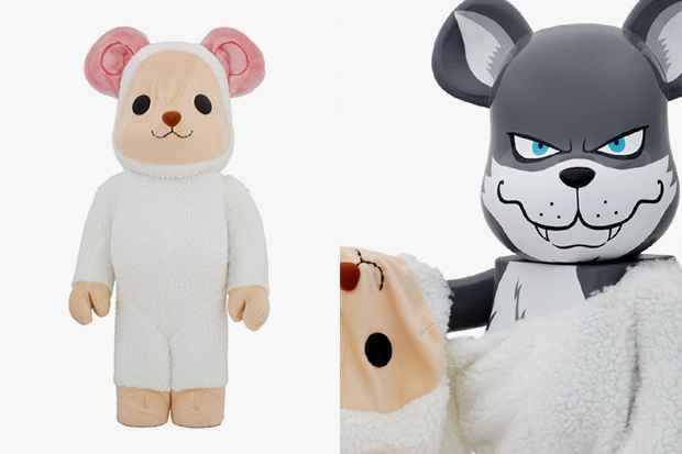 Image of fragment design x Medicom Toy Worldwide Tour 2 Osaka Bearbrick 400% &amp; 1000% - 2nd Model