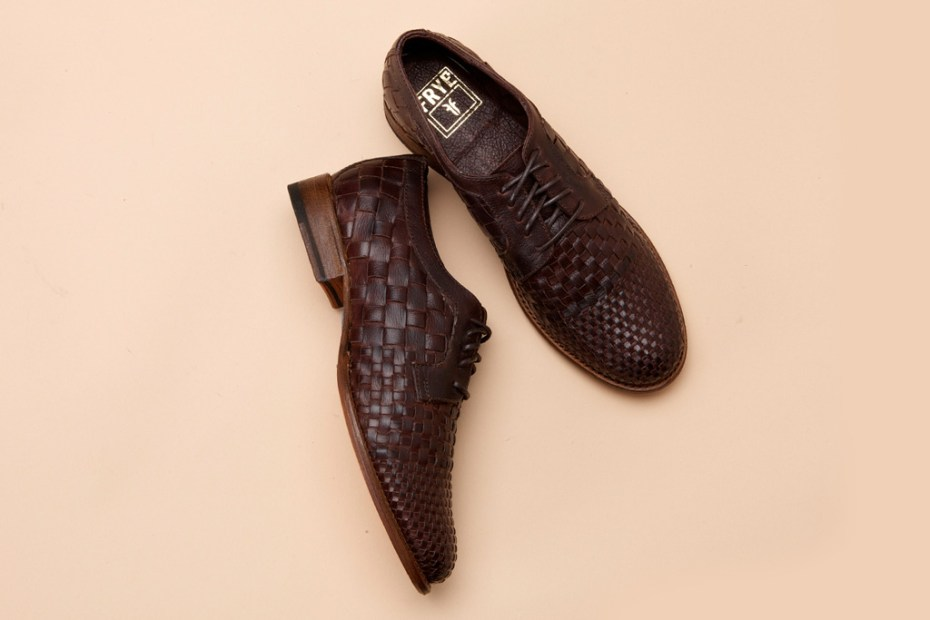 Image of Frye Manny Woven Oxford