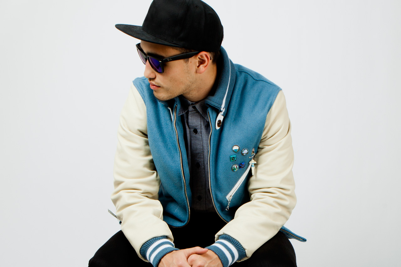 Image of Golden Bear x Garbstore 2012 Fall/Winter Vintage Varsity Jacket