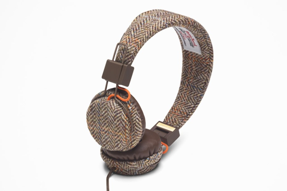 Image of Harris Tweed x Urbanears Plattan Headphones