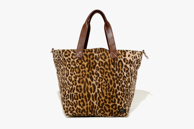 Image of Head Porter Leopard Print Tote Bag