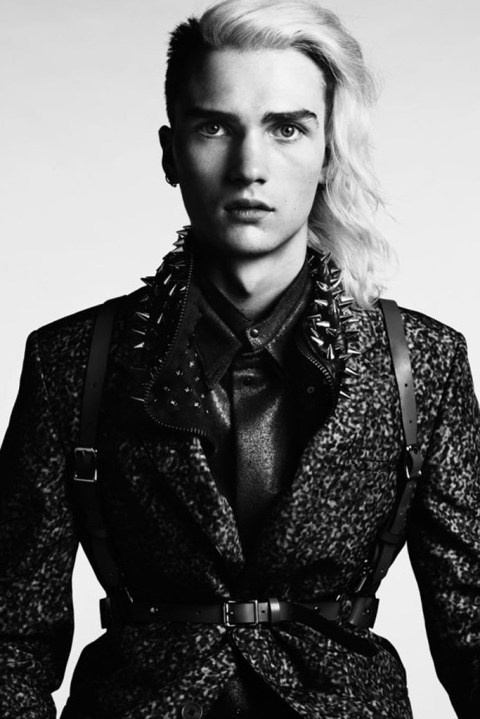 Image of Hedi Slimane 2012 Fall/Winter Editorial for Vogue Hommes Japan Issue #9