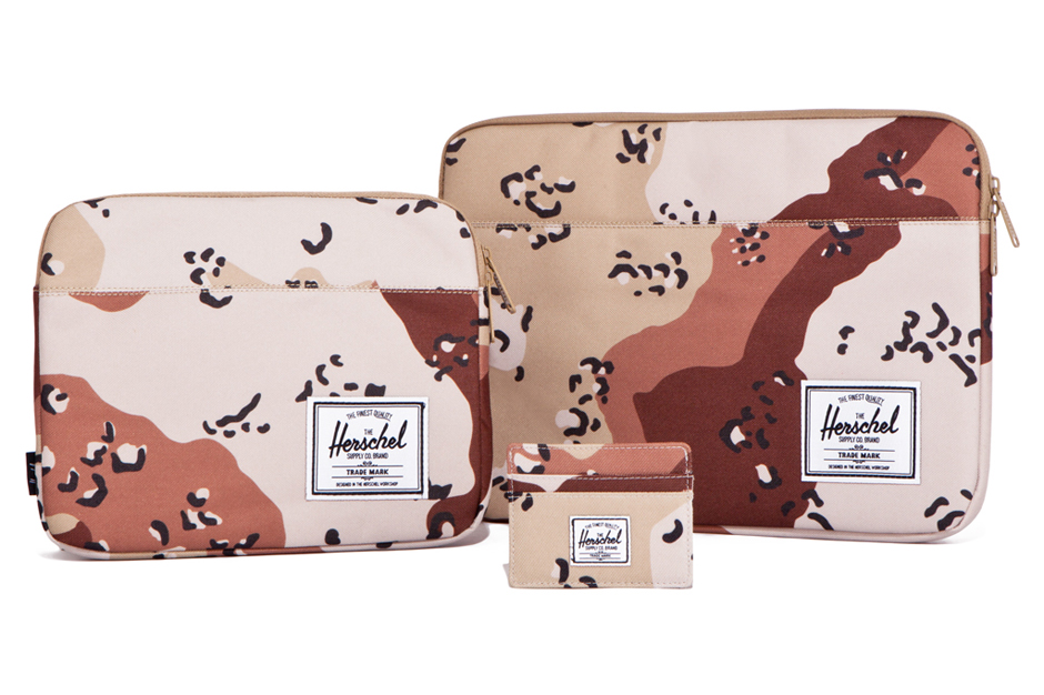 "Image of Herschel Supply Co. 2012 Fall/Winter ""Desert Storm Camo"" Collection"
