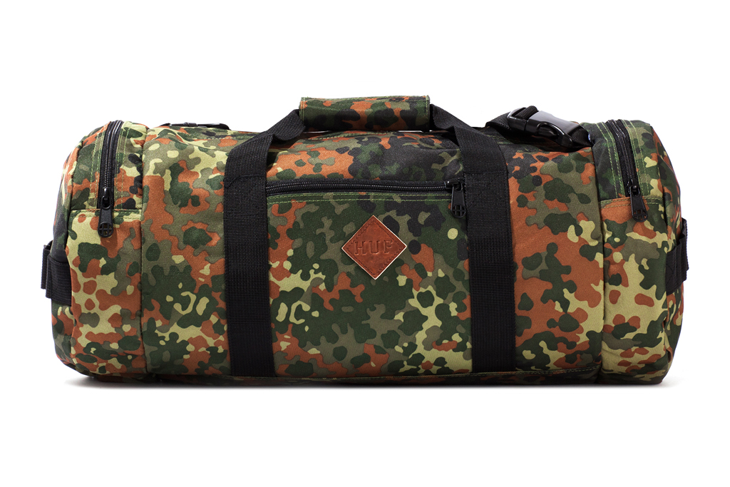 "Image of HUF 2012 Fall/Winter ""German Camo Cordura"" Accessories Collection"