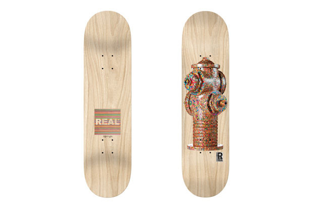 Image of HUF x Haroshi x Real Hydrant Deck