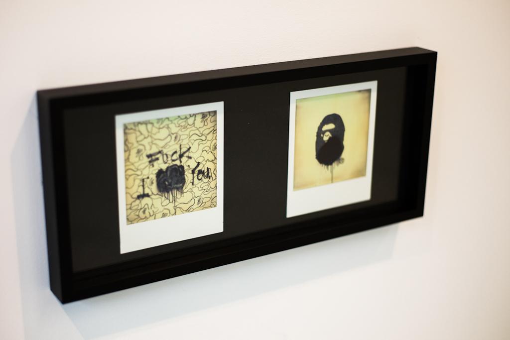 Image of IMPOSSIBLE for BAPE Exhibition @ BAPE GALLERY KYOTO Recap