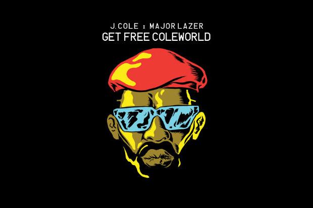 Image of J. Cole x Major Lazer - Get Free ColeWorld