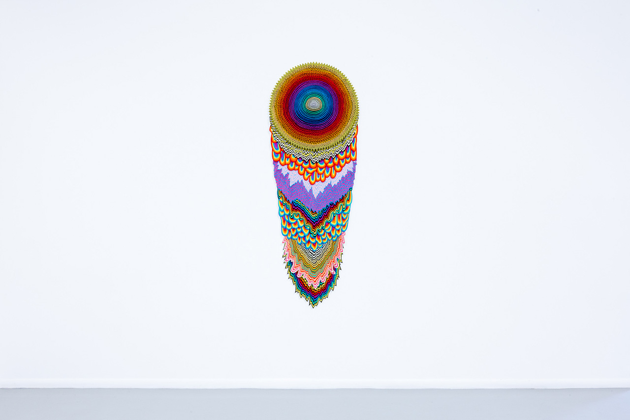 "Image of Jen Stark ""To the Power Of"" Exhibition @ Martha Otero Recap"