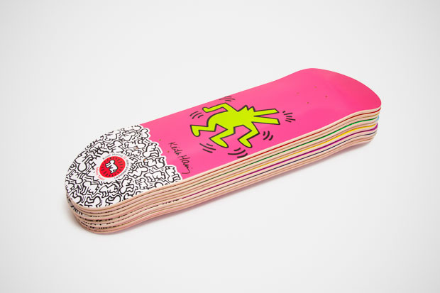 Image of Keith Haring x Alien Workshop Skateboard Collection