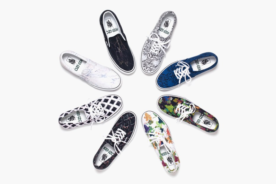 Image of Kenzo x Vans 2012 Fall/Winter Footwear