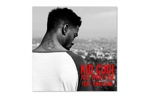Image of KiD CuDi featuring King Chip – Just What I Am (Artwork)