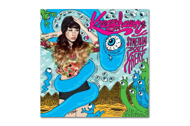 Image of Kreayshawn featuring KiD CuDi - Like It Or Love It