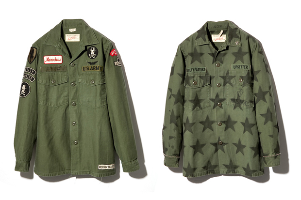 Image of LABRAT x WACKO MARIA 2012 Military Jackets