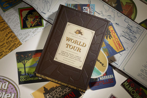 Image of Louis Vuitton to Publish 'WORLD TOUR' Book of Vintage Hotel Labels