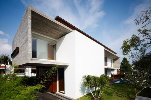 Image of M House by ONG&ONG
