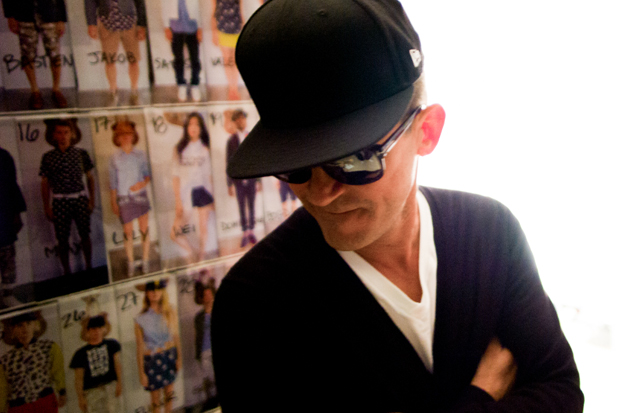 Image of Mark McNairy 2013 Spring/Summer Backstage Visuals