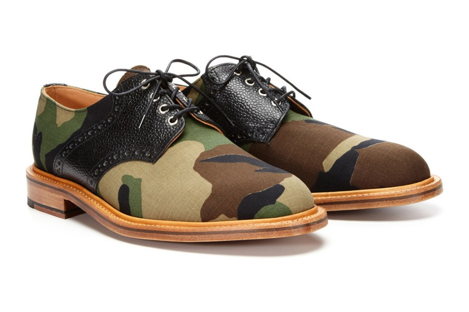 Image of Mark McNairy Woodland Camo Derby Lace-Ups for Park & Bond
