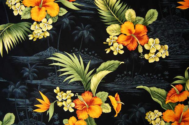 Image of Materials and Patterns: Hawaiian Print