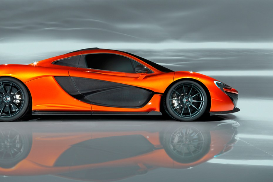 Image of McLaren Reveals New P1 Design Study