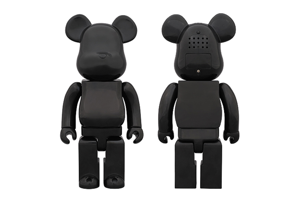 Image of Medicom Toy 400% Ver BLACK Aroma Diffuser Bearbrick
