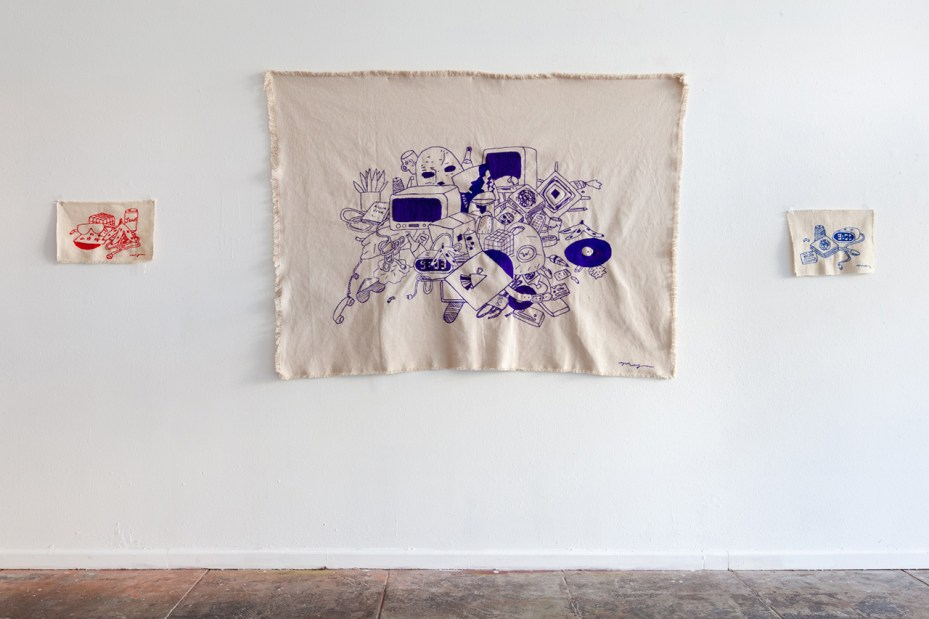 "Image of Megan Whitmarsh ""Here Comes Purple"" Exhibition @ New Image Art Gallery Recap"