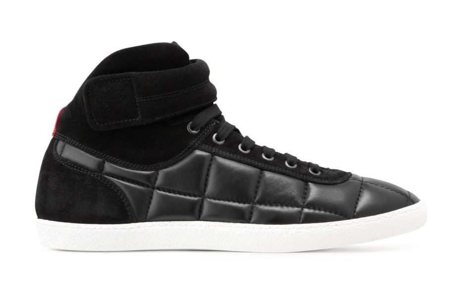 Image of Moncler Gamme Bleu Leather Sneaker