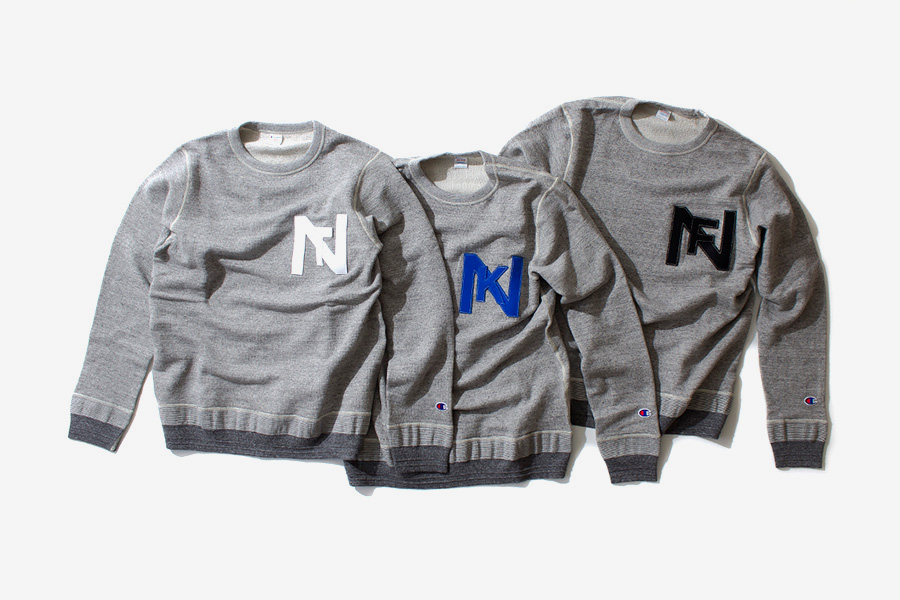 Image of nanamica x Champion Sweat Suits Collection