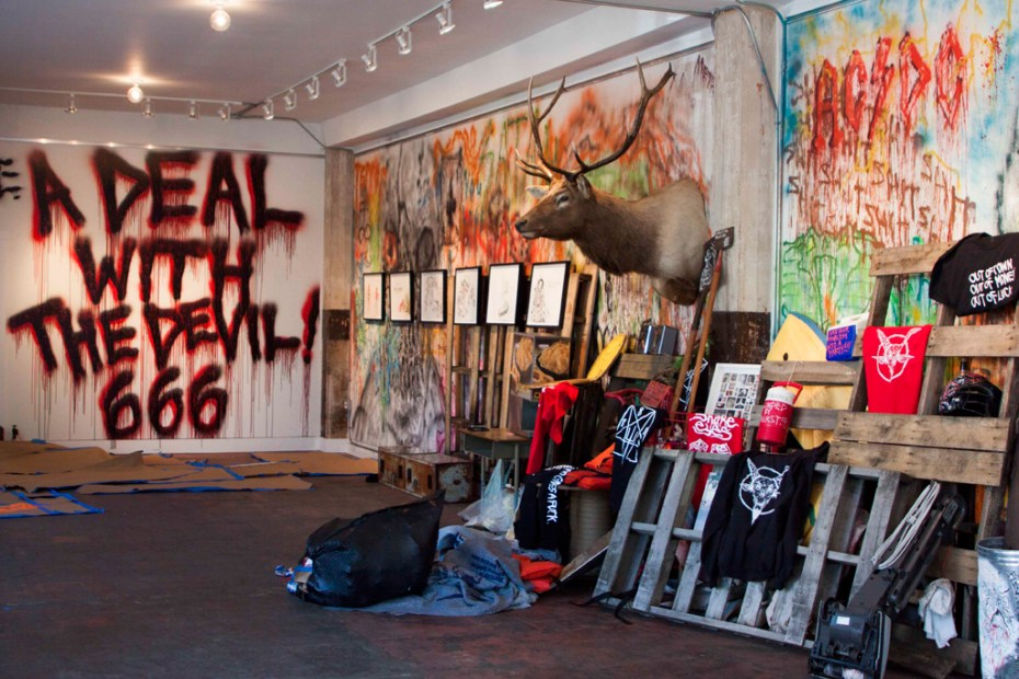 "Image of Neckface ""A Deal With the Devil"" @ One Grand Gallery"