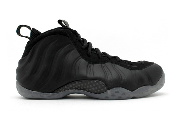Image of Nike Air Foamposite One LE Black/Medium Grey