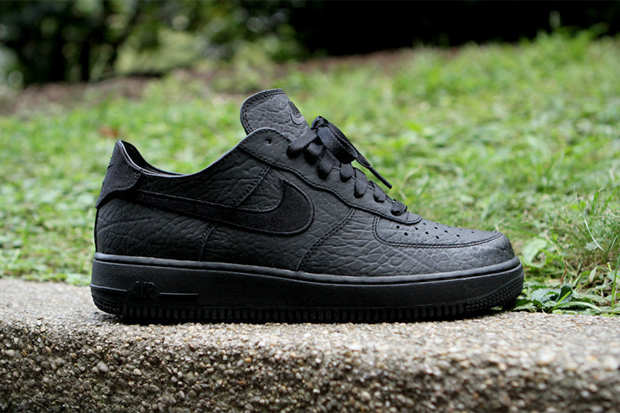Image of Nike Air Force 1 Deconstruct Black/Black