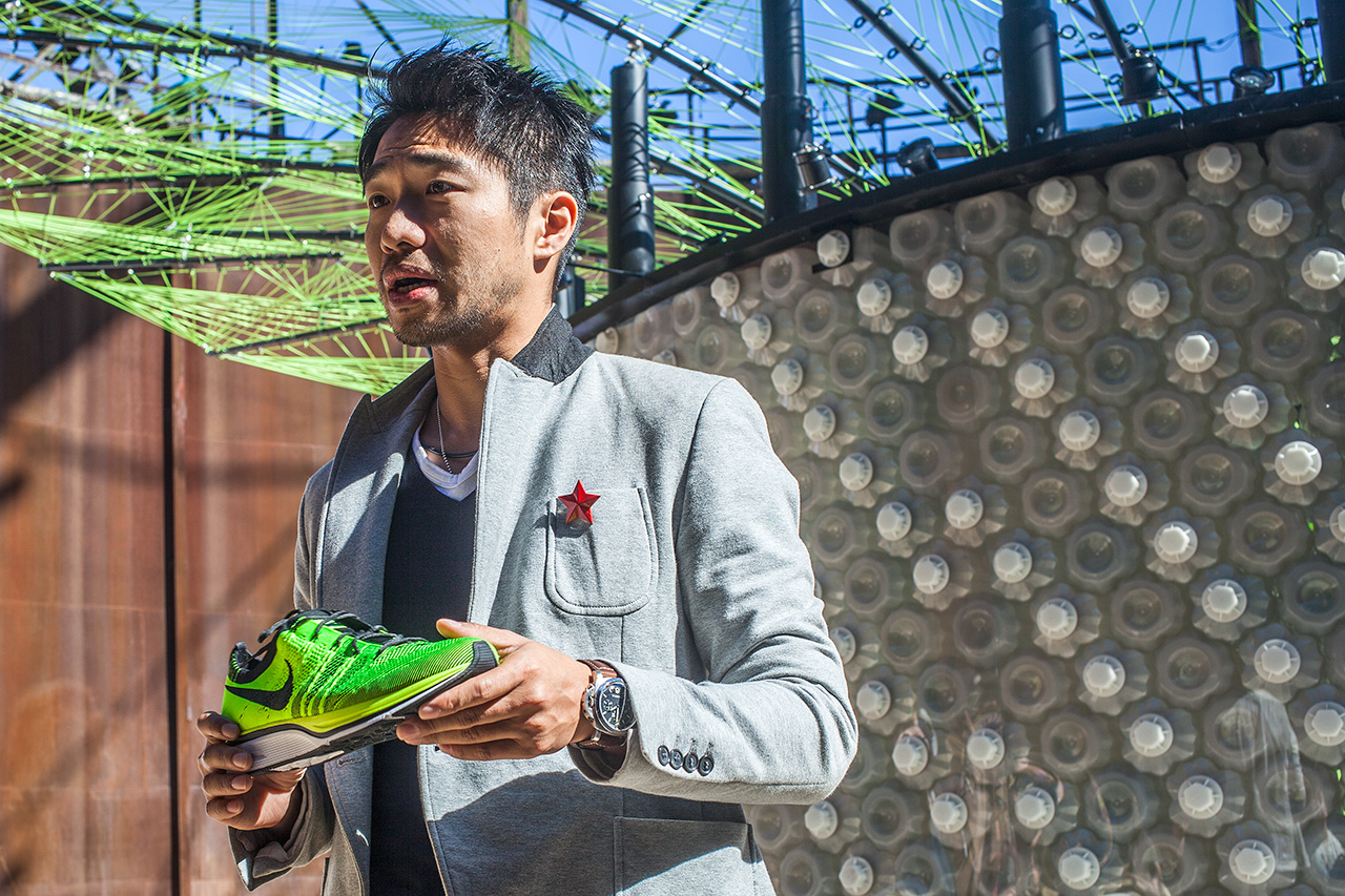 Image of Nike Flyknit Collective Beijing Feather Pavilion - An Interview with Designer Arthur Huang