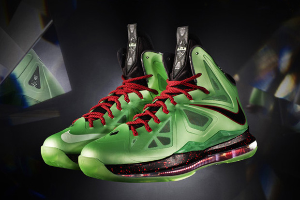 "Image of Nike LeBron X ""Cutting Jade"""