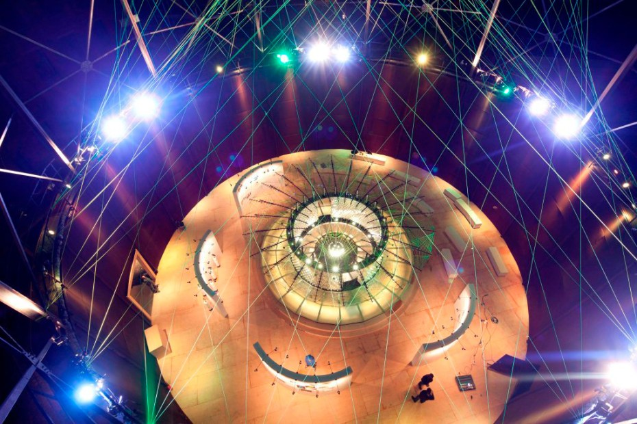 Image of Nike Reveals Flyknit Collective Feather Pavilion @ Beijing Design Week