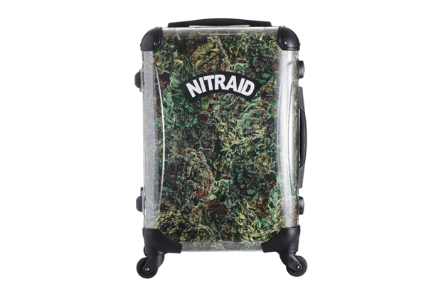 "Image of Nitraid ""Dope Forest"" Luggage"