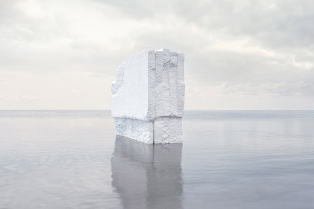 "Image of Noémie Goudal ""Haven Her Body Was"" Exhibition @ Edel Assanti"