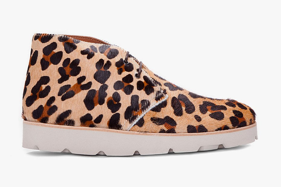 Image of Opening Ceremony Leopard Print Calf-Hair M6 Shoes