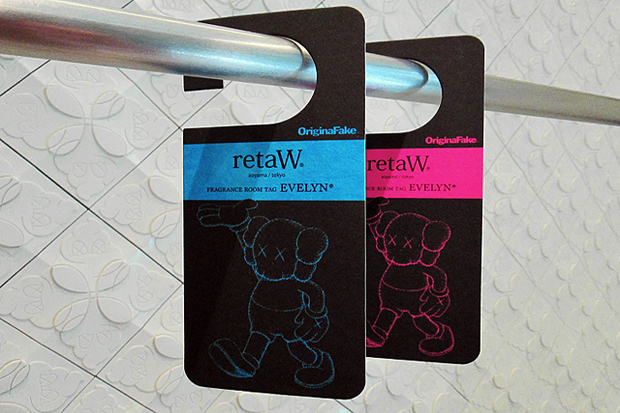 Image of OriginalFake x retaW Fragrance Room Tag