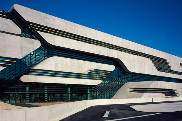 Image of Pierres Vives Building by Zaha Hadid
