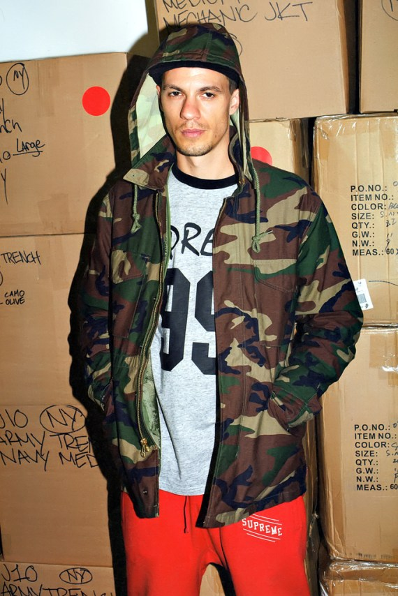 Image of POPEYE: Supreme 2012 Fall/Winter Collection Editorial