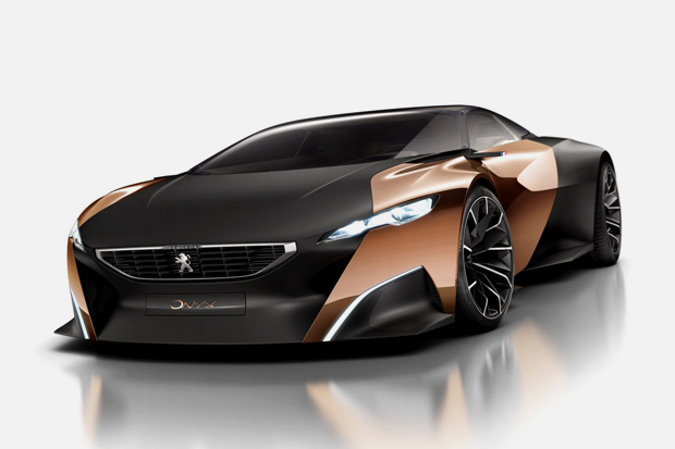 Image of Peugeot's New Onyx Supercar Concept Revealed