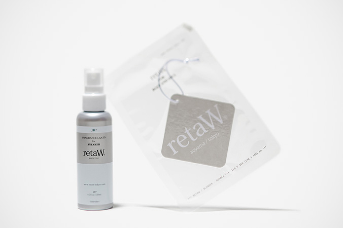 Image of retaW Fragrance Sneaker Spray and Fragrance Car Tag