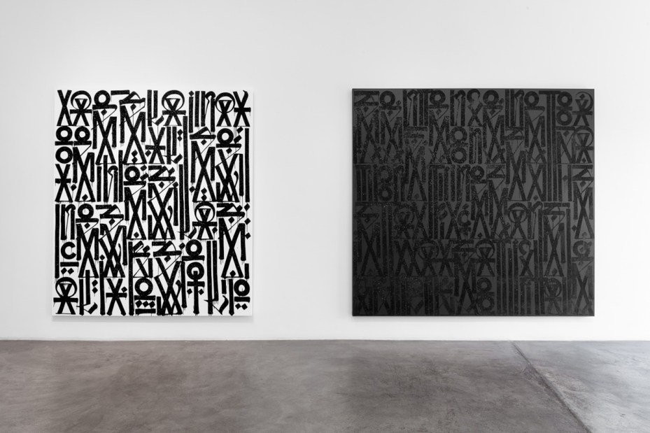 Image of RETNA &quot;New Paintings and Works on Paper&quot; @ Michael Kohn Gallery Recap