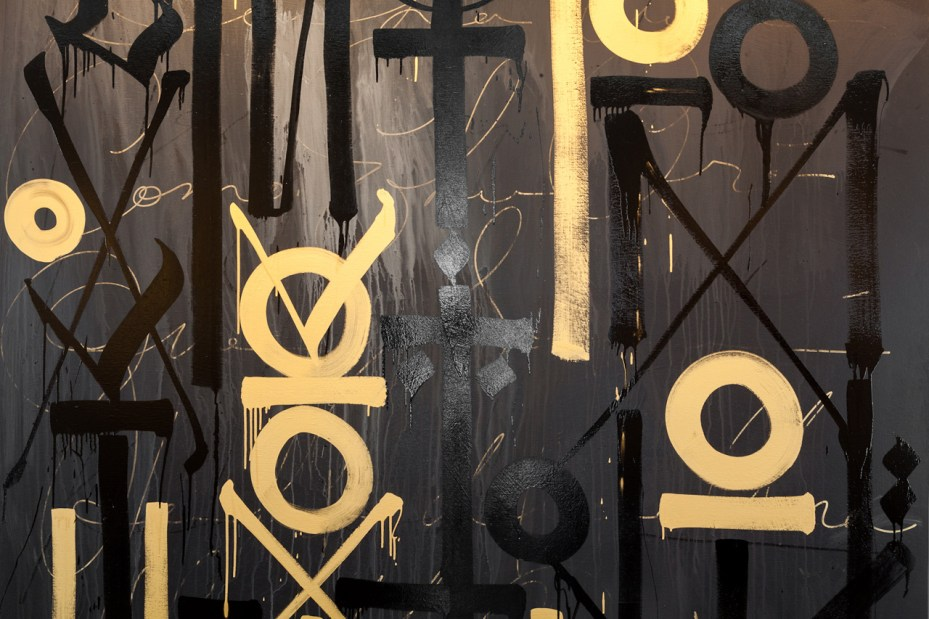 "Image of RETNA ""New Paintings and Works on Paper"" @ Michael Kohn Gallery Recap"