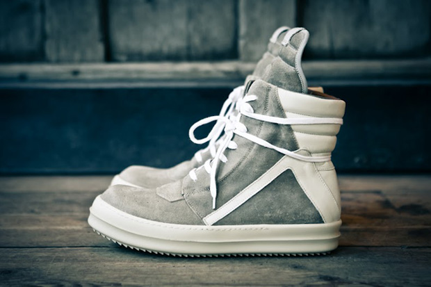 Image of Rick Owens 2012 Fall/Winter Geobasket Sneaker