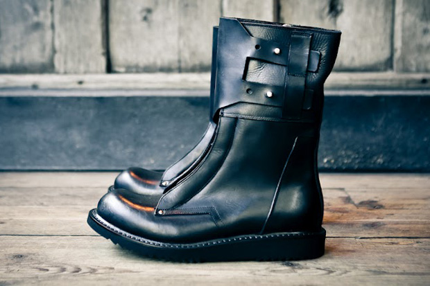 Image of Rick Owens 2012 Fall/Winter Military Boot