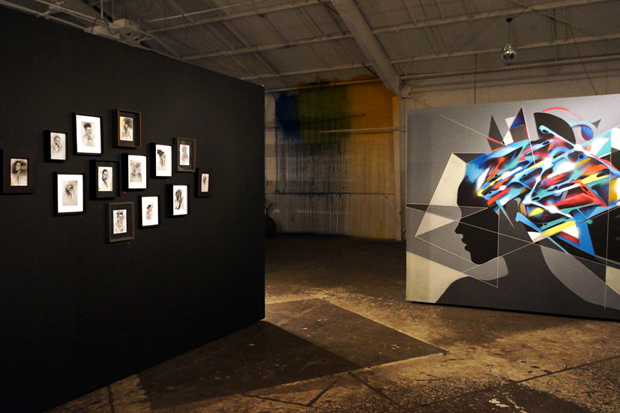 "Image of Sam Rodriguez ""FRACTIONS"" @ Loft in Space Recap"