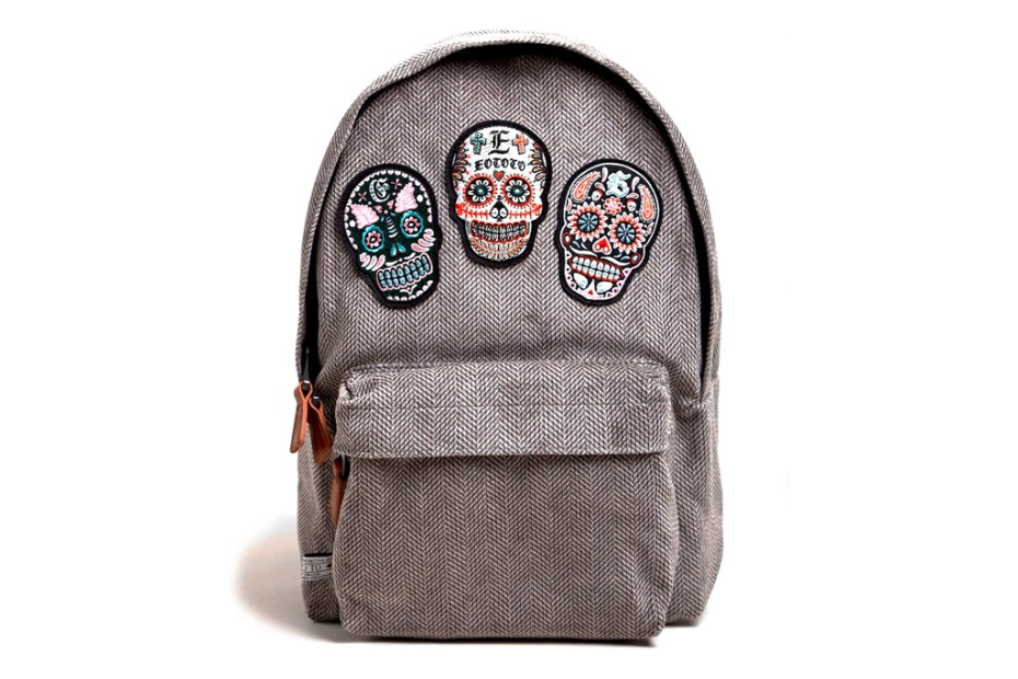 Image of SASQUATCHfabrix Eototo Skull Backpack