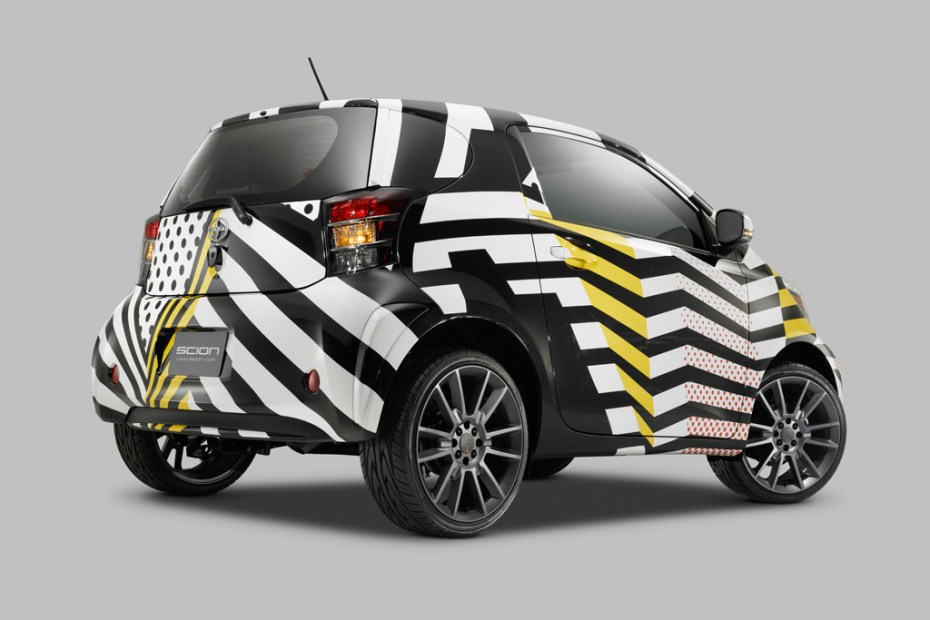 "Image of Scion Celebrates 10 Years of Supporting the Arts with ""Live It. Learn It. Love It."" Art Cars"
