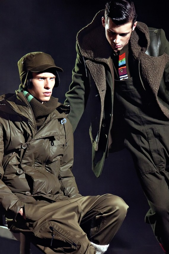 Image of SENSE: Y-3 2012 Fall/Winter Collection Editorial