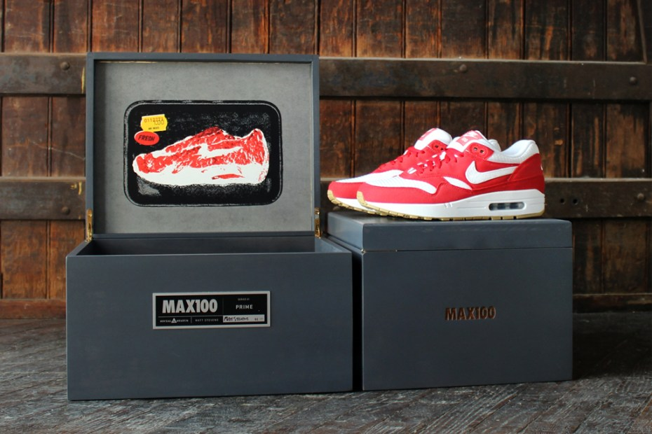 Image of Social Status x MAX100 x Nike Air Max 1 Last Five Shoes Revealed